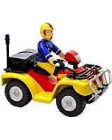 Sam Le Pompier - Sam et son Quad - Véhicule et Figurine (Import Royaume-Uni)