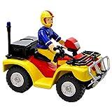 Fireman Sam 2 Vehicle Set Includes Quad Bike With Fireman Sam Figure & Bessie Fire Truck