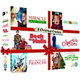 6 Christmas Crackers: Miracle on 34th Street, Home Alone, Deck the Halls, A Christmas Carol, Prancer & Jingle All the Way [DVD] [1984]