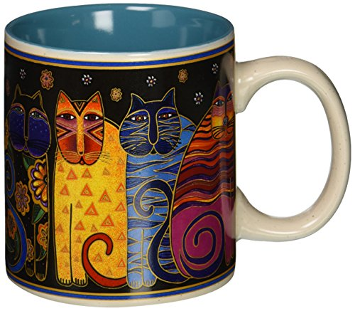 laurel-burch-laurel-burch-artistico-taza-collection-feline-retrato-familiar-otros-multicolor