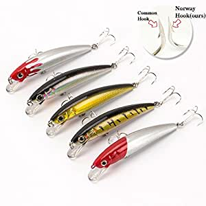 Yoyfishing minnow fishing lures fishing for Amazon fishing lures