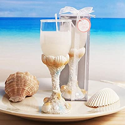1 Wedding Seaside Beach Theme Toast Candle Party Supplies All Occasions