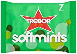 Trebor Softmints Peppermint (Pack of 7 Total 28 Rolls)