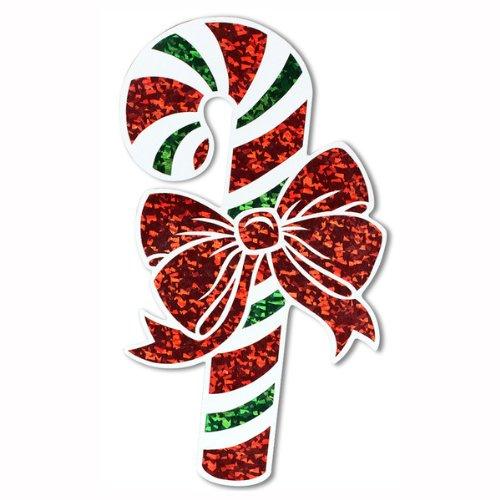 Prismatic Candy Cane Cutout Party Accessory (1 count) (1/Pkg) - 1