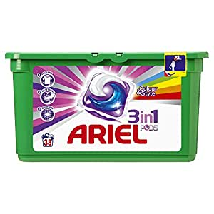 Ariel 3 in 1 Pods Colour Liquitabs 114 Washing Capsules - Pack of 3