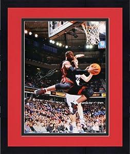 Framed Autographed Dwyane Wade Miami Heat Photo - 16x20 - JSA Certified - Autographed... by Sports Memorabilia