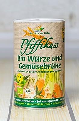 Pfiffikus Streuwürze und Gemüsebrühe 250g von Pfiffikus - Gewürze Shop