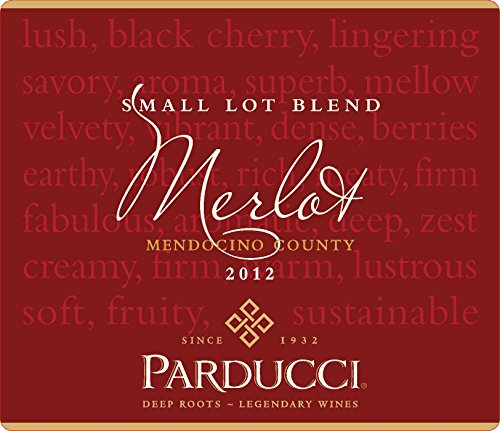 2012 Parducci Small Lot Blend Merlot Mendocino County 750 Ml