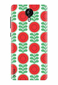 Noise Designer Printed Case / Cover for Micromax Canvas Amaze 2 / Patterns & Ethnic / Healthy red Design
