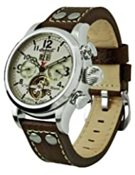 Ingersoll Men's IN4506WHGR Bison Number 18 Automatic White Dial Watch
