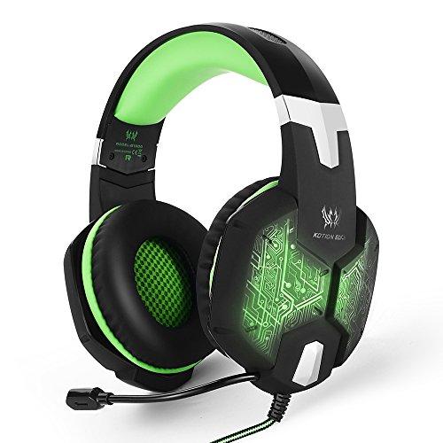 marsboy Gaming Headset Kopfhörer USB/Klinken-Stecker thumbnail