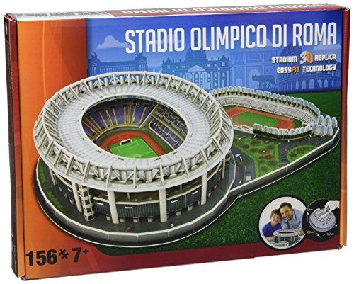 Giochi Preziosi - Nanostad, 3D Stadium Puzzle Stadio Olimpico/Roma