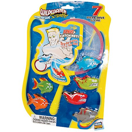 Wildwater Scrambler Diving Fish Game - 1