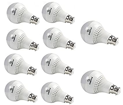 3W LED Bulb (Pack of 10)