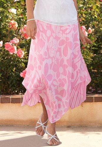 Hanky-Hem Skirt - Buy Hanky-Hem Skirt - Purchase Hanky-Hem Skirt (Chadwicks, Chadwicks Skirts, Chadwicks Womens Skirts, Apparel, Departments, Women, Skirts, Womens Skirts, Wrap, Wrap Skirts, Womens Wrap Skirts)