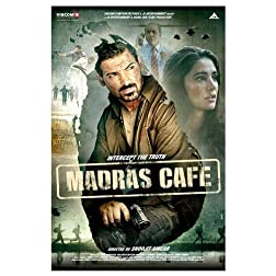 Madras Cafe (Hindi Film / Bollywood Movie / Indian Cinema DVD) 2013