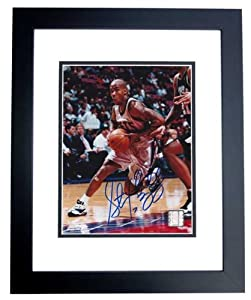 Stephon Marbury Autographed Hand Signed New Jersey - Nets 8x10 Photo - BLACK CUSTOM... by Real+Deal+Memorabilia
