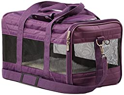 Sherpa Original Deluxe Pet Carrier, Medium Plum