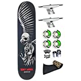 Tony Hawk Birdhouse Hawk Full Skull 7.75 Skateboard Deck Complete Krux Trucks Spitfire... by Birdhouse