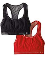 Champion Women's Two-Pack Reversible Seamless Racerback Bra