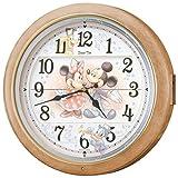 SEIKO CLOCK (セイコークロック) ディズニー壁掛け時計 電波時計 からくり掛け時計 FW561A