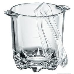 Borgonovo Ice Bucket Polka + Tongs 70 cl