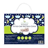 #1 Top Rated Crib Mattress Pad on Amazon! - Ideal Baby Gift - Waterproof, Hypoallergenic, Breathable, PVC-Free - Superior Quality Protector with Silky Soft Quilted Top by Nursery Necessities