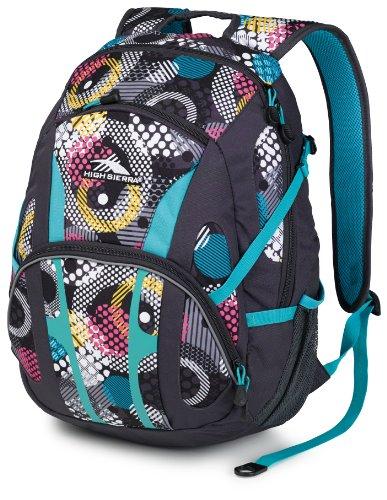 High Sierra Composite Backpack, Black front-593859