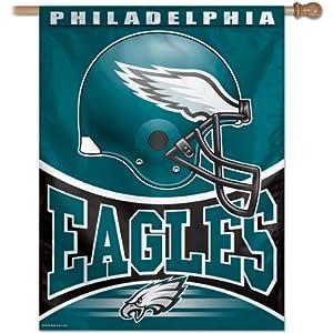 NFL Philadelphia Eagles 27-by-37 Inch Vertical Flag