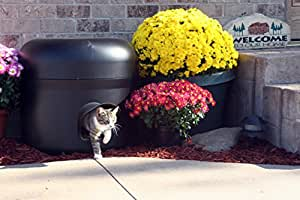 The All NEW Kitty Tube-GENERATION 2. Outdoor Insulated Cat House with Custom Pet Pillow