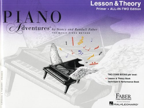 Piano Adventures: Lesson and Theory Book - Primer Level (Faber Piano Adventures)