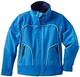 Urban Republic Little Boys' Little Boy 2177 Soft Shell Jacket, Medium Blue, 7