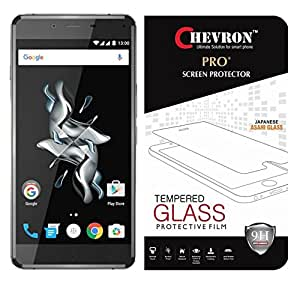Chevron 0.3mm Pro+ Tempered Glass Screen Protector For OnePlus X (Pack Of 2)