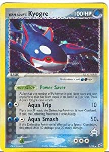 Team Aqua's Kyogre - EX Team Aqua vs. Team Magma - 3 [Toy]
