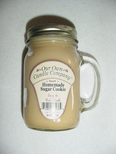13 oz Homemade Sugar Cookie Candle (Our Own Candle Company Brand) Made in USA - 100 hr burn time