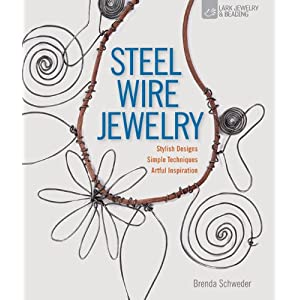 steel wire jewelry, new book, brenda schweder
