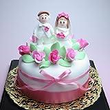 シュガークラフトケーキ LoveHappyWedding♪ドレス