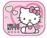 Hello Kitty - Sunscreen / Sun Blinds / Sunshade Set (2 Sunscreens - Two Kitties)
