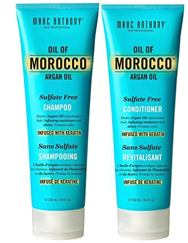 Marc Anthony Oil of Morocco Argan Oil Sulfate Free Keratin Shampoo and Conditioner Set (Morocco Shampoo And Conditioner compare prices)