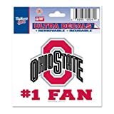 Ohio State University Ultra Decal 3x4 #1 FAN