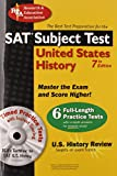 SAT Subject Test™: United States History w/CD (SAT PSAT ACT (College Admission) Prep)