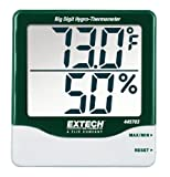 Extech 445703 Big Digit Hygro-Thermometer with Min/Max - EX-445703