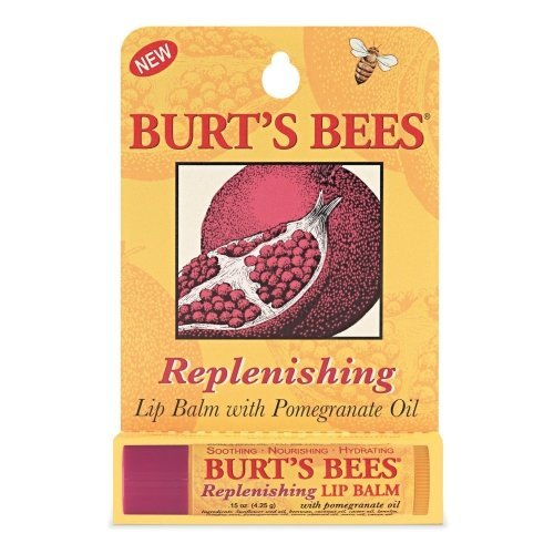 Burt's Bees .15-Ounce Replenishing Pomegranate Lip Balm