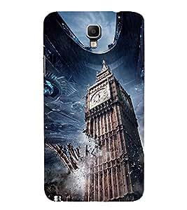BIGBEN ALIEN INVASION PIC. 3D Hard Polycarbonate Designer Back Case Cover for Samsung Galaxy Note 3 Neo N7505