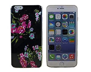 Fashion Case Lovely Country Flowers Soft Shell Case for iPhone 6 Plus (5.5 Inch Screen) (YP-TPUH-I6P-07)