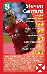 Top Trumps Specials Liverpool Fc 2011 Season Card Pack by Winning Moves