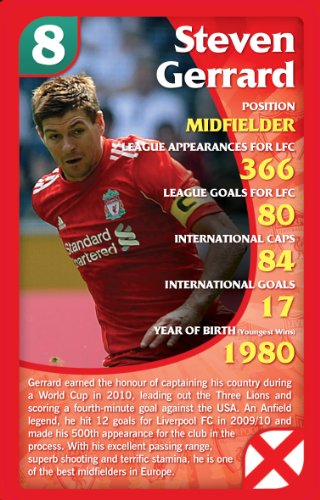 Imagen 1 de Top Trumps - Juego de cartas especial Liverpool FC 2011
