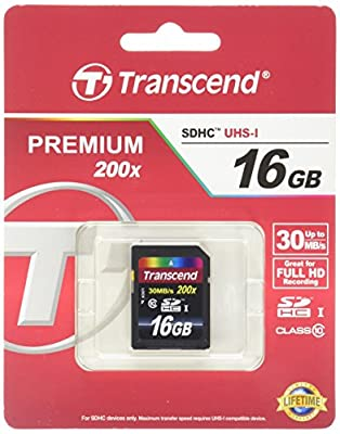 Transcend SDHC Class 10 Flash Memory Card