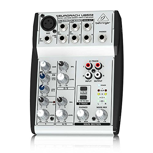 Behringer Ub502 Eurorack Ub502 Mixer (5 Inputs)