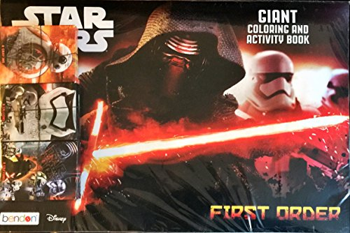 [Disney Star Wars Episode VII The Force Awakens Bundle: 6 - Giant Coloring / Activity Books with 6 pack, 8 count Starwars Crayons - Kylo Ren Captain Phasma First Order & Rey BB8 - 12 Items, 54] (Star Wars The Force Unleashed 2 Darth Vader Costume Cheat Xbox)